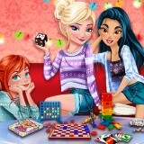 Princesses Board Games Night