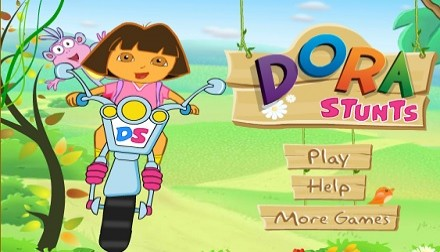 Dora Stunts Girls games