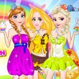 Princesses Easter Fashion