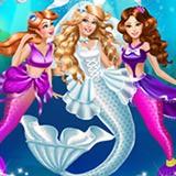 Mermaid Doll Wedding