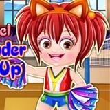 Baby Hazel Cheerleader Dressup