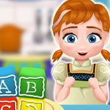 Baby Annie Cooking Block Cakes