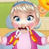 Baby Elsa tooth Problems