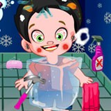Christmas Messy Kid