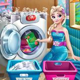 Ellie Laundry Day!