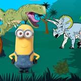 Minions In Jurassic Park