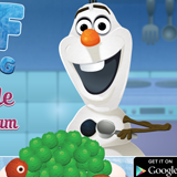 Olaf Cooking Ice Cream