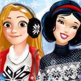 Princesses Winter Fun