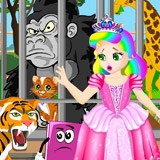 Princess Juliet Escapes The Zoo