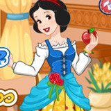 Snow White Patchwork Dress!