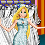 Princess Rapunzel Wedding Dress